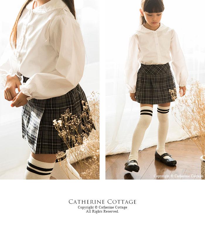 チェック柄スカート 通園通学 卒業式 入学式 卒園式 カジュアル プリーツスカート