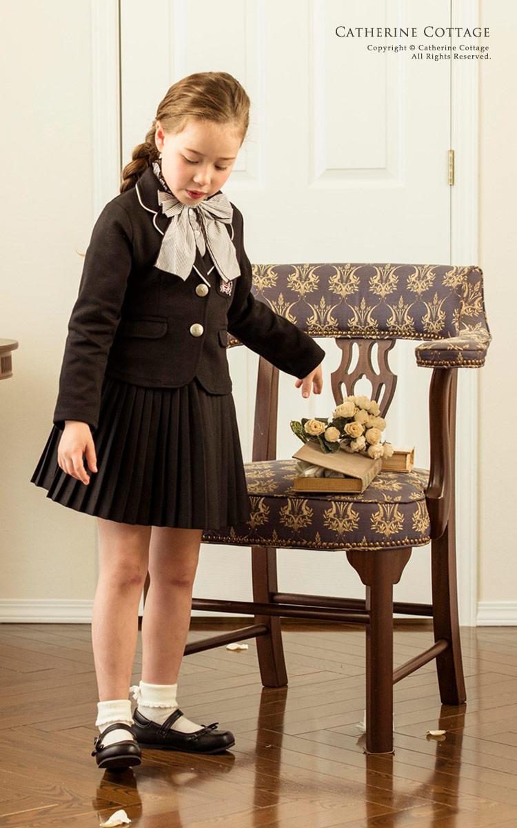 子供スーツ 女の子 スーツ プリーツスカート&カットソー ジャケット&ブラウス 3点スーツセット スーツセット 女の子 卒業式 入学式 発表会 フォーマル 女児スーツ