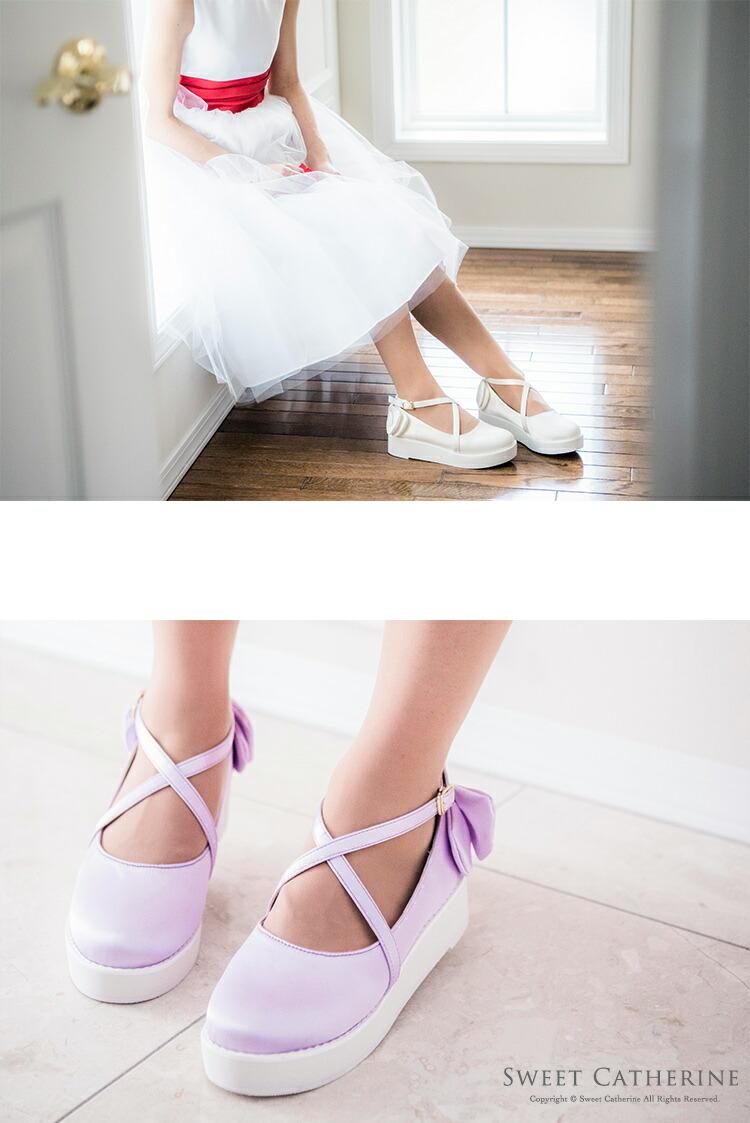 ロリータ 靴 通販