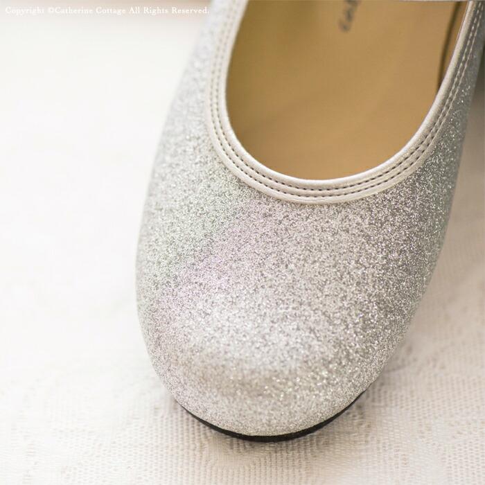 子供靴 シルバーラメ 女の子