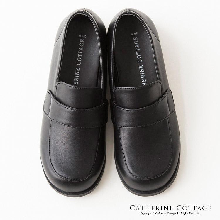 発表会 卒業式 入学式 靴 ローファー 黒