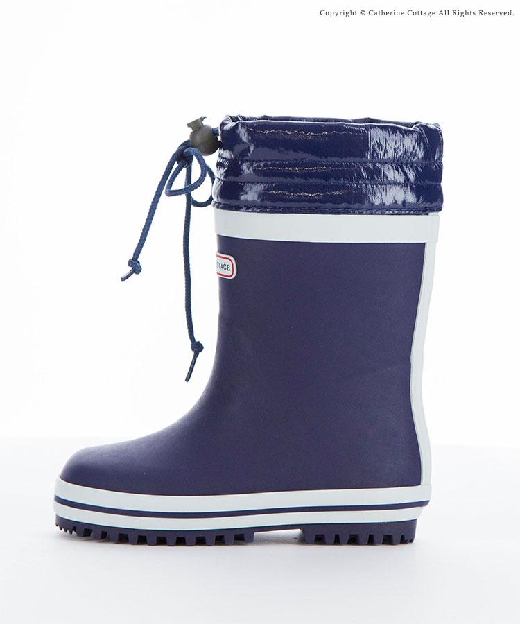 長靴 キッズ 雪 雨 子供 ジュニア長靴 フード付きラバーブーツ レインブーツ 男の子 女の子 防寒 雪用