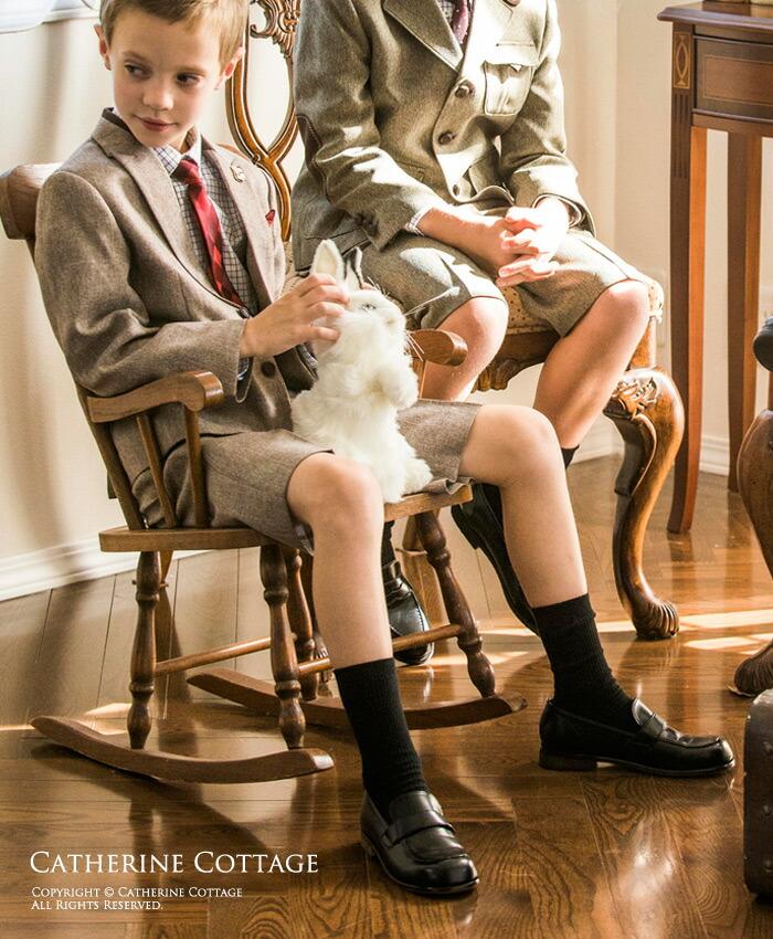 クルーソックス モデル着用 靴下