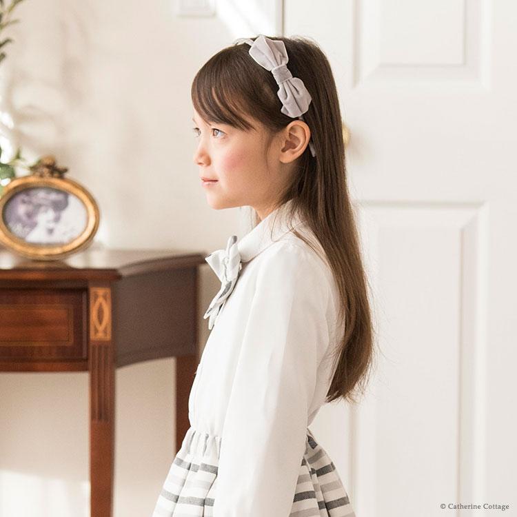 女の子 入学式 卒園式 カチューシャ 髪飾り