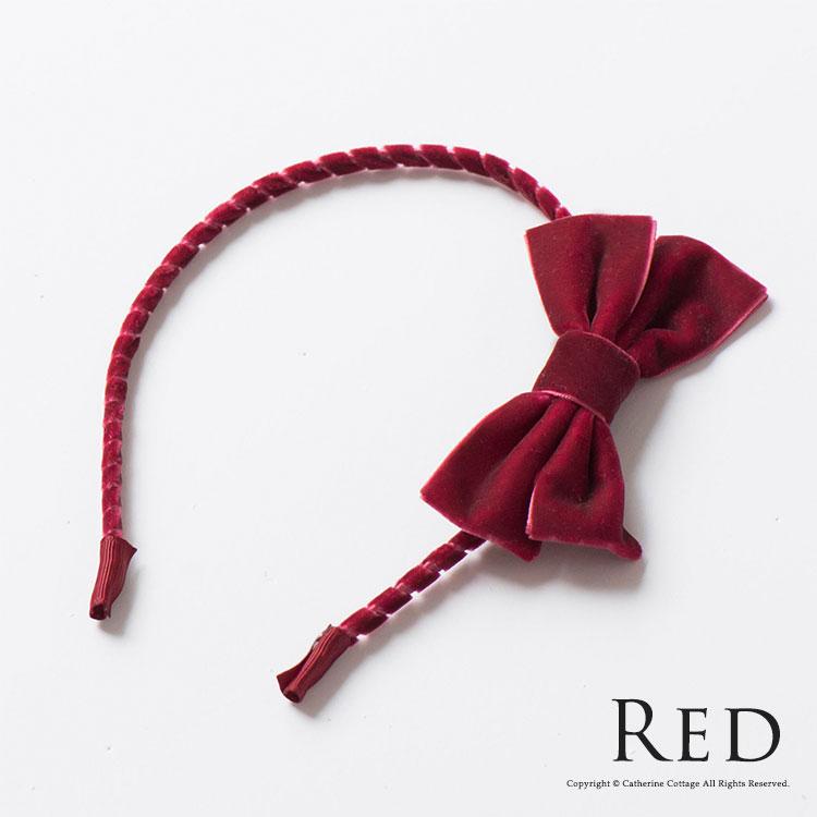カチューシャ レッド 赤