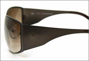 ポリス サングラス S8451G SLS ダークブラウン メタル ブラウングラデーション