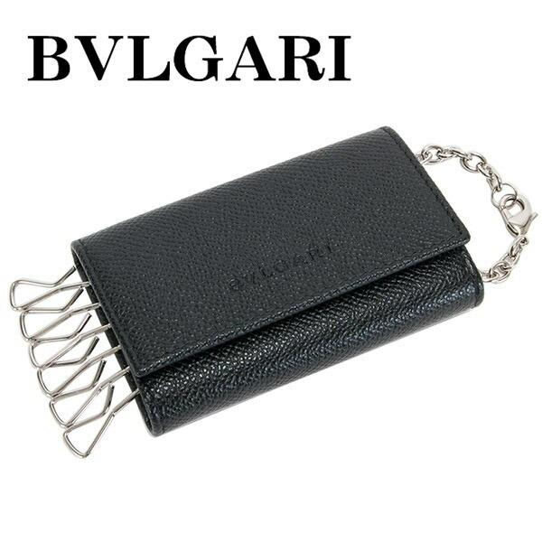 ブルガリ BVLGARI CLASSICO クラシコ キーケース 6連 メンズ 20864