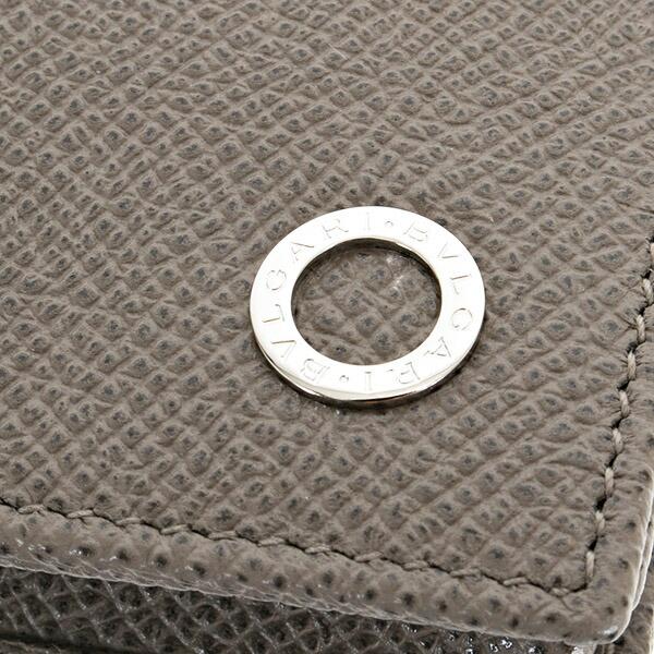 ブルガリBVLGARI財布長財布メンズ二つ折りBVLGARIBVLGARIブルガリブルガリマンストーングレー30399STONEGREY