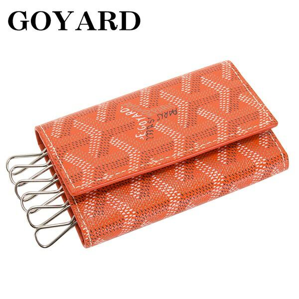 GOYARD ゴヤール キーケース 6連 メンズ レディース オレンジ MICHEL 07
