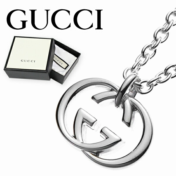 4a67820336a9 グッチ ネックレス GUCCI GGロゴモチーフ ペンダント シルバー SILVER 190484 J8400 8106