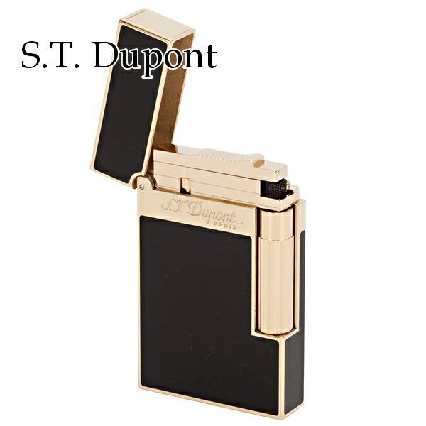 エステー デュポン S.T.Dupont ライター メンズ 喫煙具 LIGNE2 ライン2 ダモンパルナス イエローゴールド 16884