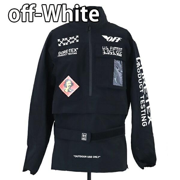 オフホワイト OFF-WHITE GORETEX ANORAK ジャケット アノラック ジャケット【OFF WHITE 大きいサイズ 男性 ゴアテックス ヴァージルアブロー 新品 正規品 セール】