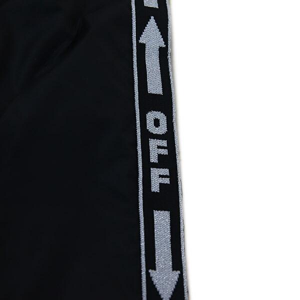 オフホワイト off-White ボトムス パンツ ロング トラック ブラック OMCA090S19A230011000 LIGHT NYLON JOGGING