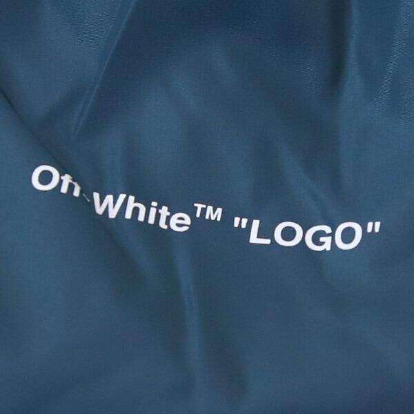 オフホワイト off-White ボトムス パンツ ロング トラック ネイビー OMCA090S19A230013900 LIGHT NYLON JOGGING