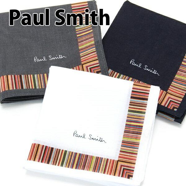ポールスミス Paul Smith ハンカチ メンズ ハンカチーフ HANK ストライプ 553737