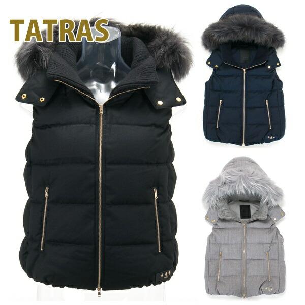 タトラス TATRAS ダウンベスト レディース ダウン ベスト フード付 ウールダウンベスト LUSERA ルセラ LTA18A4572