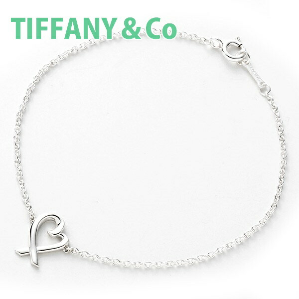 d5529d904 Correspondence Tiffany TIFFANY & Co. Bracelet Lady's accessories Paloma  atomic bomb SORA Bing heart medium 7in silver 33645511 brand new article  new work ...