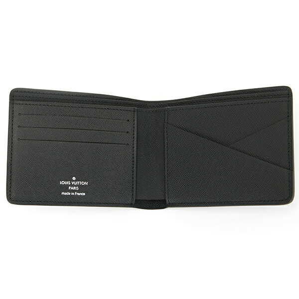 ルイヴィトン LOUIS VUITTON 財布 二つ折り財布 メンズ モノグラム エクリプス ポルトフォイユ ミュルティプル M61695