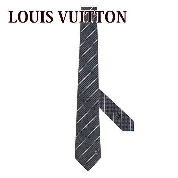 ルイヴィトン louisvuitton 新品 ネクタイメンズ タイピン クラヴァット・エク 8CM アントラシット M78758
