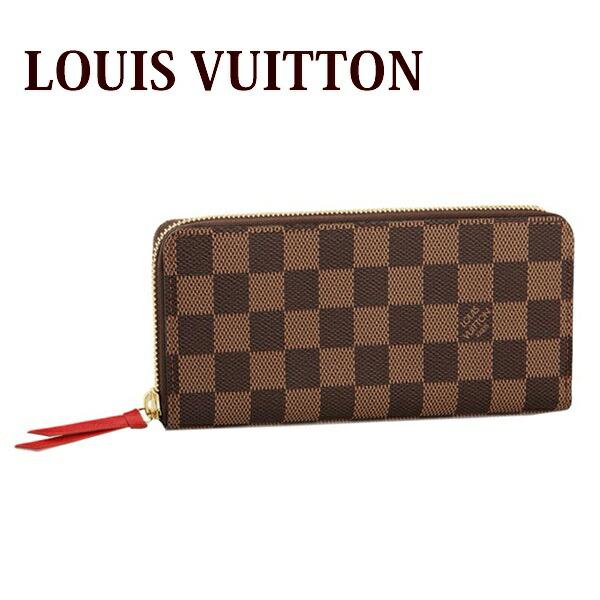 ルイヴィトン LOUIS VUITTON 財布 長財布 レディース ラウンドファスナー ポルトフォイユ・クレマンス ダミエ N60534