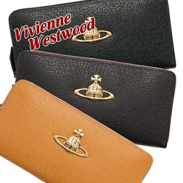 ヴィヴィアンウエストウッド Vivienne Westwood 財布 長財布 レディース ラウンドファスナー EXECUTIVE オーブ 3118C9A