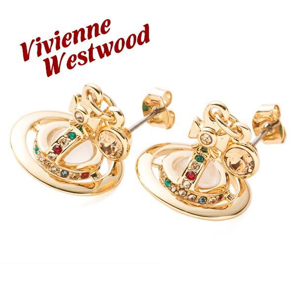 ヴィヴィアンウエストウッド Vivienne Westwood ピアス レディース プチオーブ ゴールド 1467/14/01