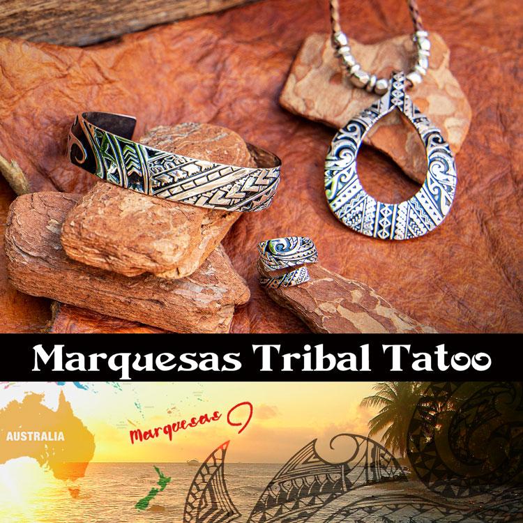 Marquesas Tribal Tatoo Accessories