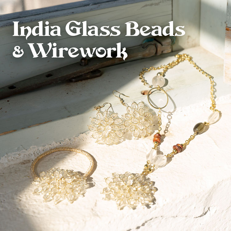 India Glass Beads&Wirework