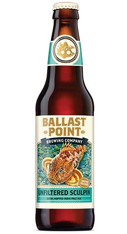 バラストポイント アンフィルタード スカルピン IPA 7.0% 355ml <ビール/アメリカ>