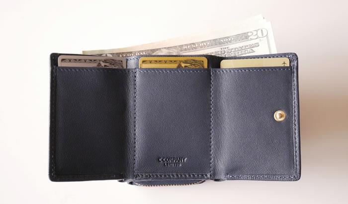 96d9ea67ddc9 【CAPRA】カプラ・三つ折り財布 C COMPANY LIMITED Cカンパニー本店