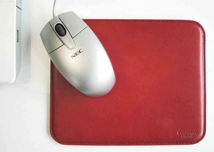 マウスパッド(mu-0001)のカラーバリエーション:レッド