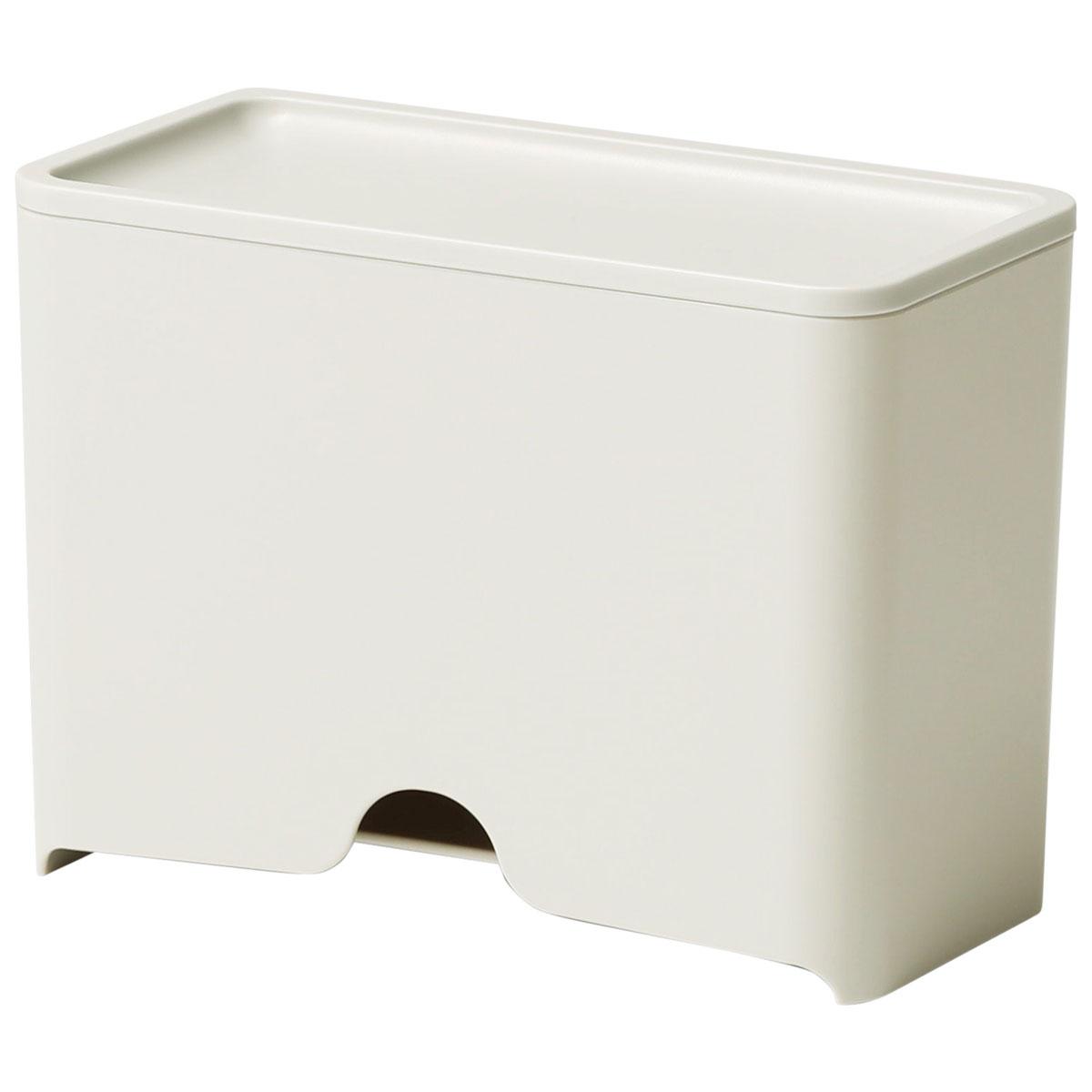 マスクケース ideaco マスクディスペンサー60 ベーシック 玄関 マスク収納ボックス イデアコ サンドホワイト