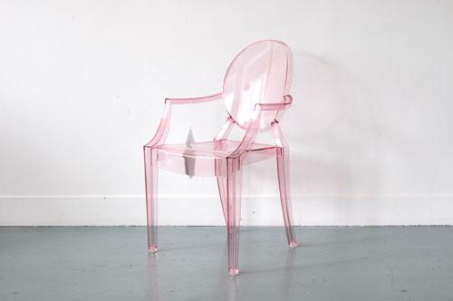 Superbe Lou Lou Ghost Kids Chair Armchair