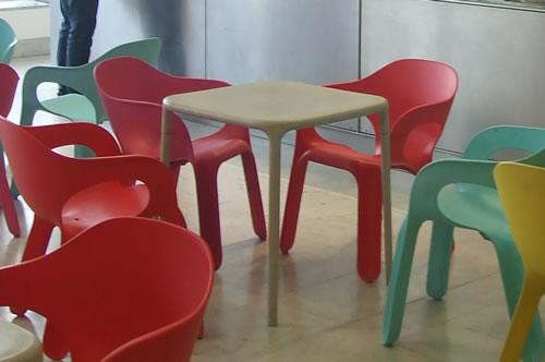 【楽天市場】magis (マジス) Air Table エアテーブル 組立式スタッキングテーブル(四角形) ベージュ