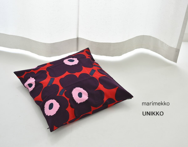 marimekkoマリメッコ Pieni Unikko クッションカバー45cm