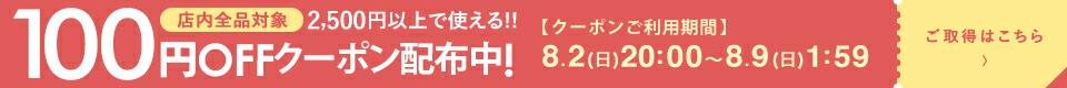2500円以上100円OFF