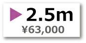 デジタルクリスタル 2.5m