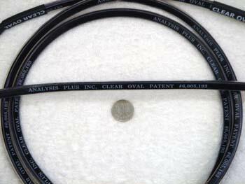 アナリシスプラス クリアーオーバル スピーカーケーブル。基本の14ゲージ♪