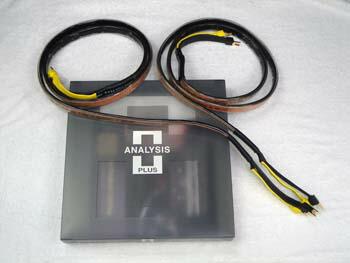 ブラックオーバル9・スピーカーケーブル