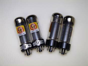 EL34Mパワー管、真空管