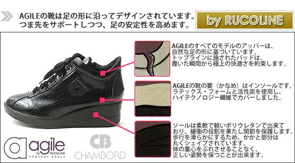 新ブランド【agile】の靴は足の形に沿ってデザインされています。つま先をサポートしつつ、足の安定性を高めます。