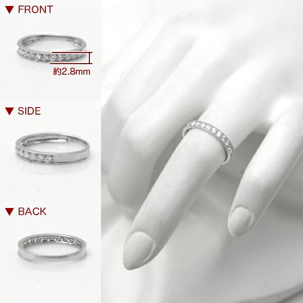 ダイヤモンド リング プラチナ 指輪 0.3カラット 宝石鑑別書付き 天然 ダイヤモンドリング 0.3ct スイート10 結婚10周年 スイートテン