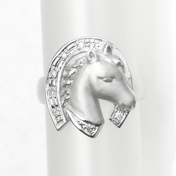 幸運を呼ぶ馬蹄 ホースシュー リング 指輪