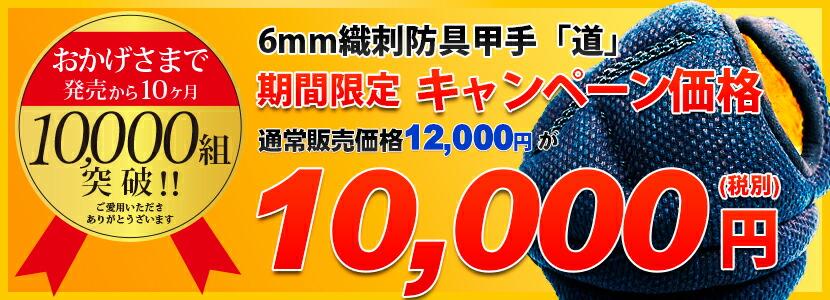 10000組突破キャンペーン
