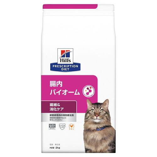 ヒルズ プリスクリプション・ダイエット〈猫用〉 腸内バイオーム