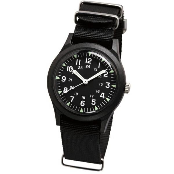【正規品】ALPHA INDUSTRIES アルファインダストリーズ 腕時計 ALW-46374-1BK メンズ Military ミリタリー クオーツ