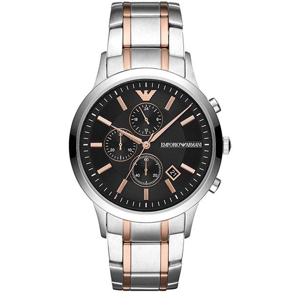 【並行輸入品】EMPORIO ARMANI エンポリオアルマーニ 腕時計 AR11165 メンズ RENATO レナート クオーツ