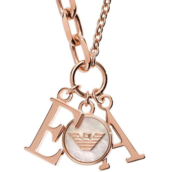 EMPORIO ARMANI エンポリオアルマーニ EG3384221 レディース ゴールド ネックレス ペンダント ロゴ