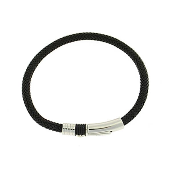 【並行輸入品】EMPORIO ARMANI エンポリオアルマーニ EGS162400119 メンズ ブレスレット ブラック