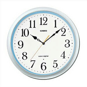 CASIO カシオ クロック IQ-480J-8JF 電波 掛時計